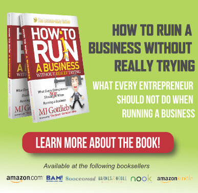 How to Ruin a Business - Buy the Book